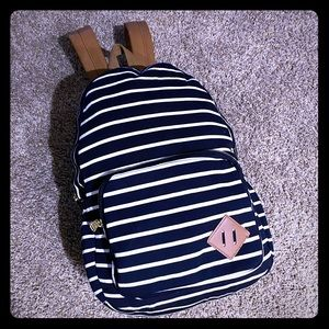 Madden Girl Striped Back Pack